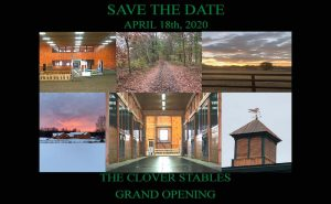 Clover Stables Grand Opening Save The Date