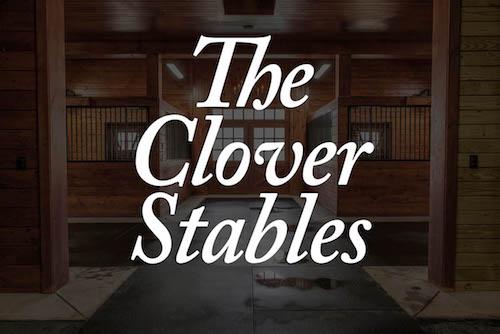 Clover Stables Sponsor