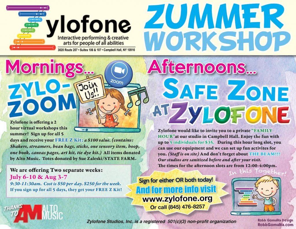 Zylofone Summer Workshops